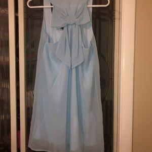 Dainty Hooligan Blue Bow Dress